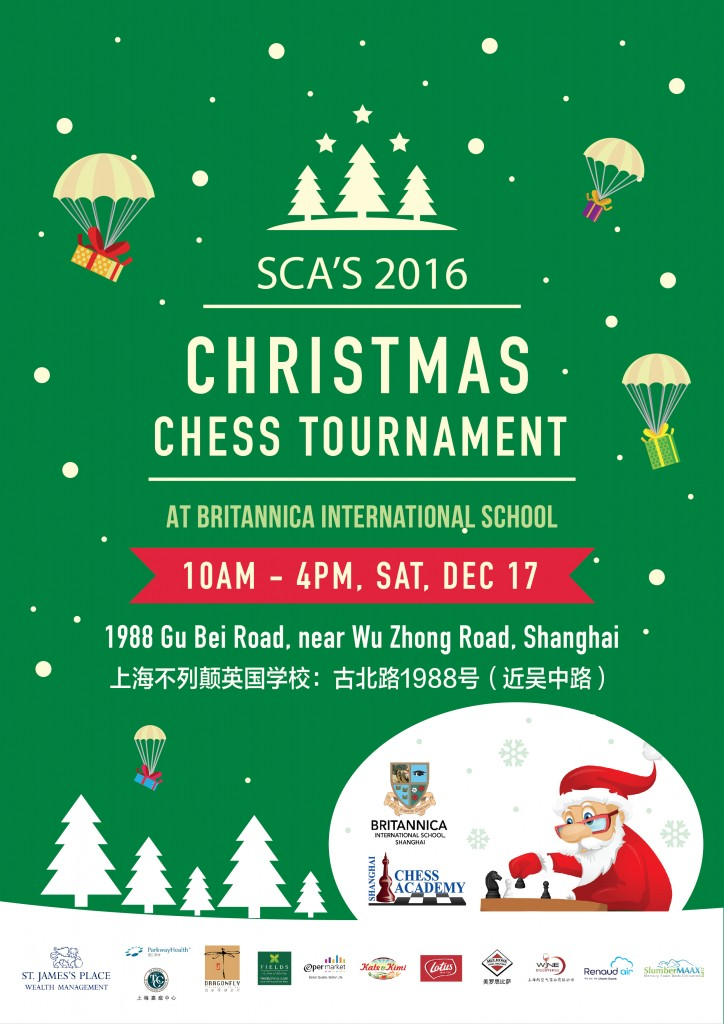 SCA's Christmas Tournament 2016