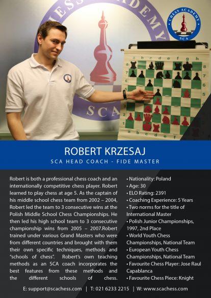 Robert Krzesaj - Bio 2