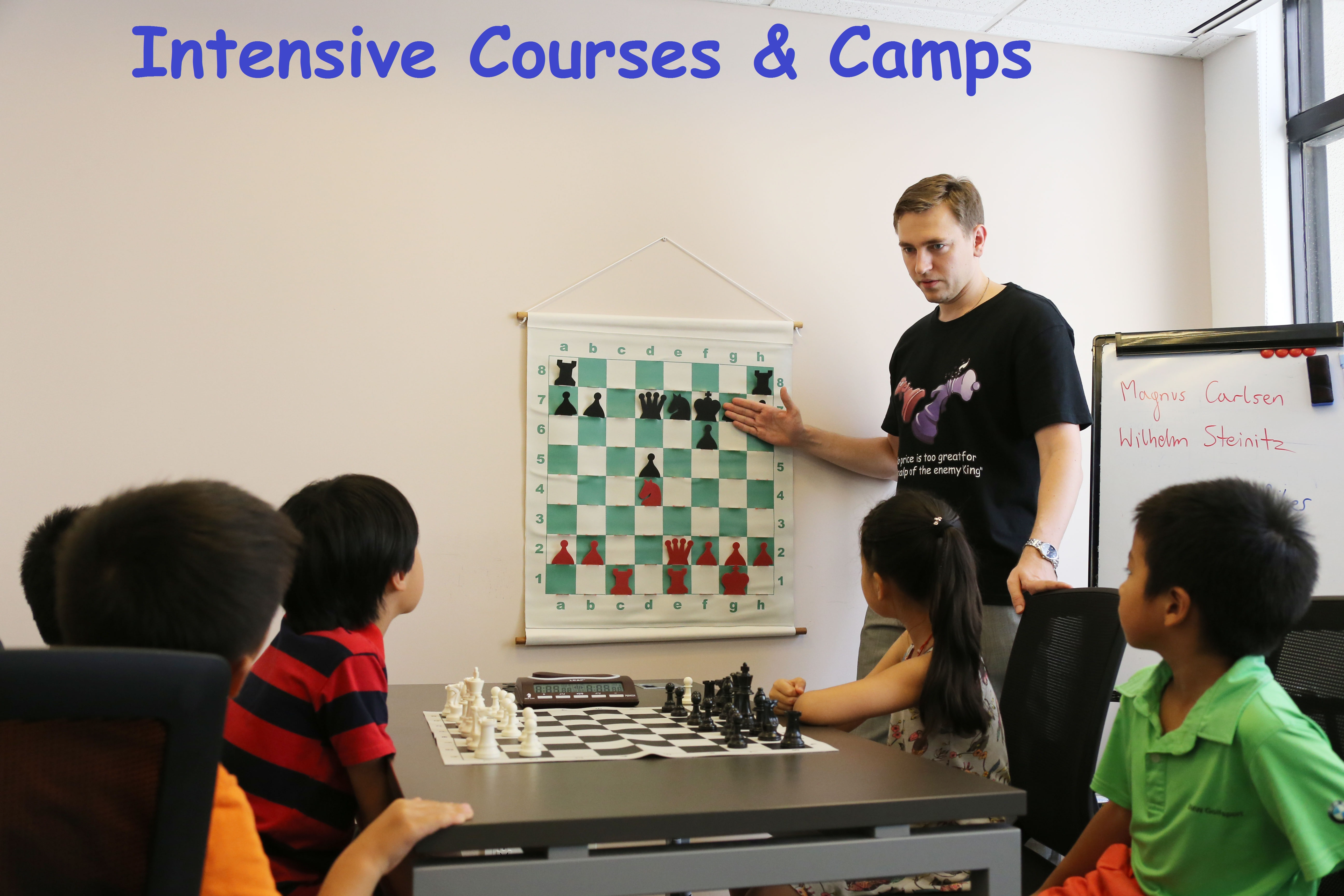 Intensive Courses and Camps